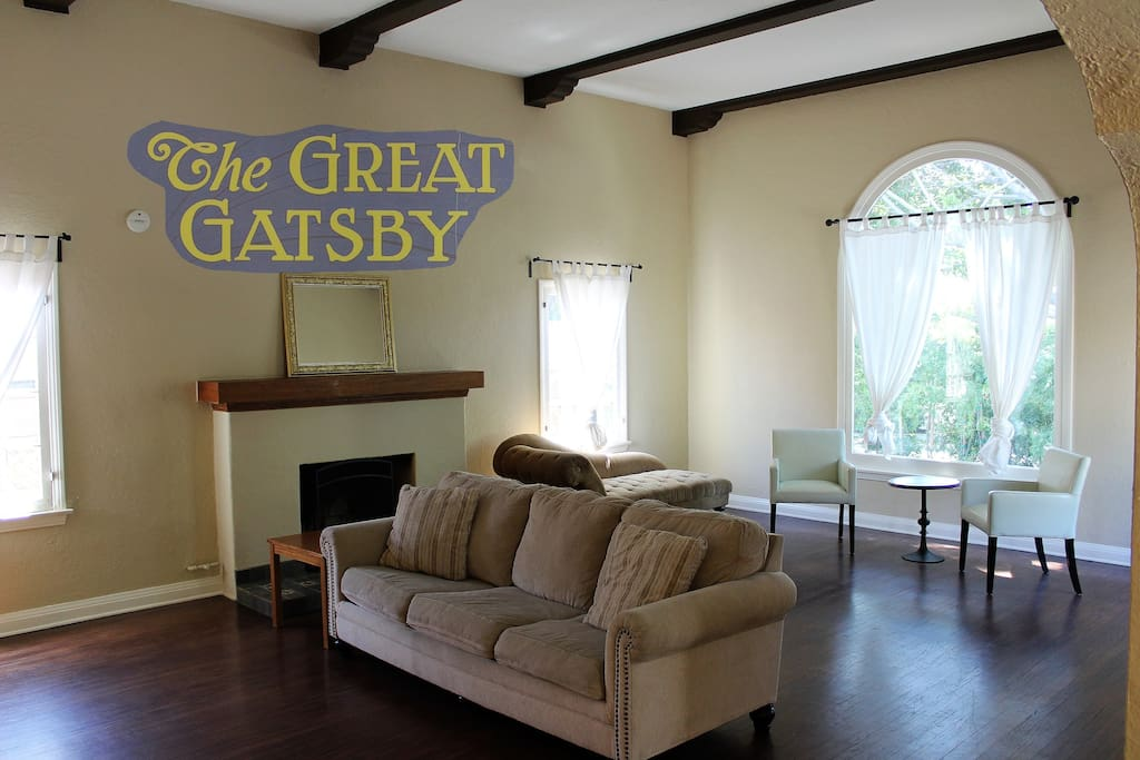 The Great Gatsby is a huge West Hollywood home located on legendary Laurel Canyon right at the Sunset Strip, in the Hollywood Marmont neighborhood. This home features a large open Living Room and Dining Room area, as well as 3 Bedrooms and 2 bathrooms, for a total of 1,980 square feet of space to relax and enjoy this ultimate Sunset Strip location--just like modern day stars, musicians, and celebrities still do to this day! See for yourself here on this photo tour, and experience for yourself during your stay.