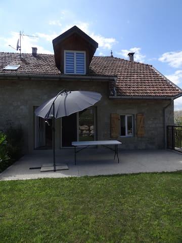 Belle maison de charme à la campagne-30mn Annecy - Frangy - 단독주택