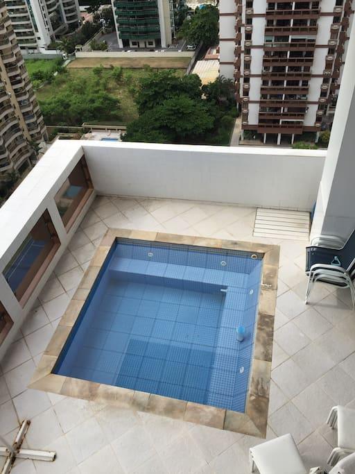 piscina na varanda