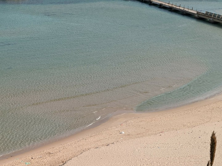 Appartement plage Cap Falcon avec piscine privé