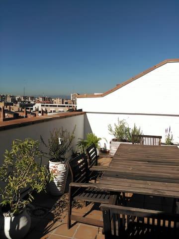 City Center! Close to la Latina with terrace!