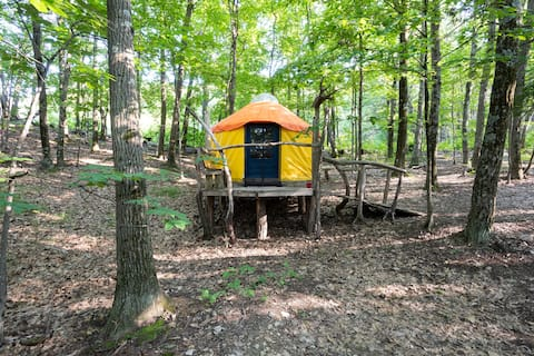 Magic Forest Farm Yurt