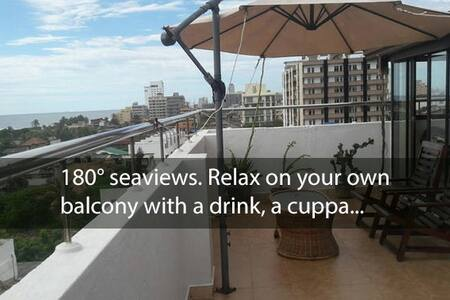 Your own STUNNING Sea View 2BRM Apt