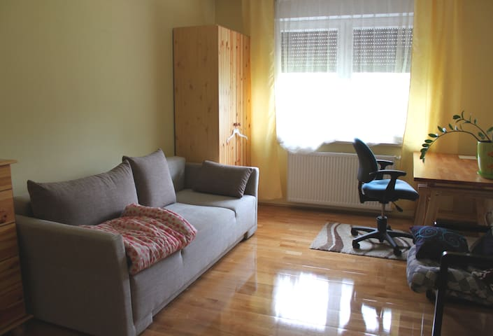 Nice room+separate bathroom+parking - Poznań - House