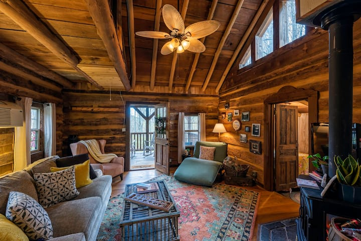 Firefly Cabin on 248 Acres of Preserved Land!