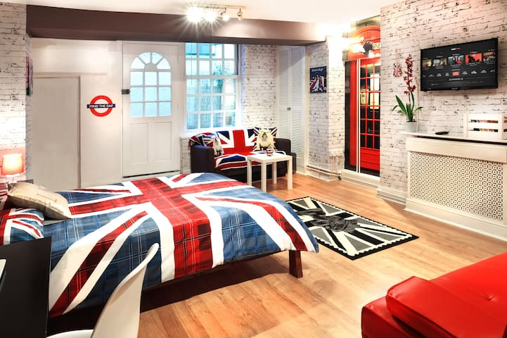 Cool Large Studio in Central London - Londen - Appartement