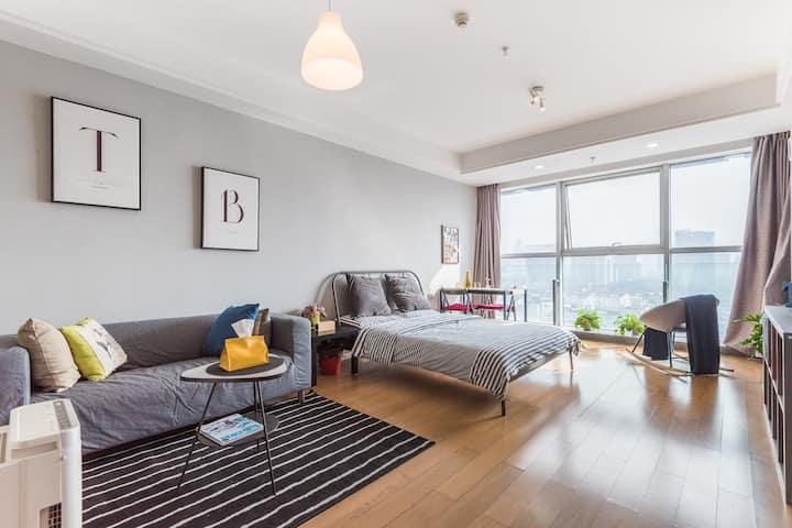 TB HOME@Ningbo  Super Cityview Apartment