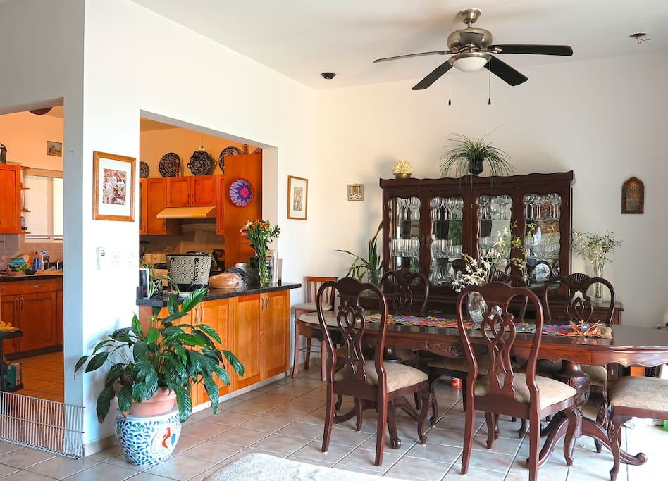 Enjoy great natural light in the dining room
