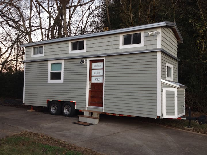 Experience Life in a Tiny House on Wheels!
