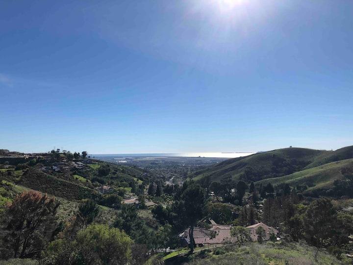 Vista Master Bedroom Ventura hills with Ocean View