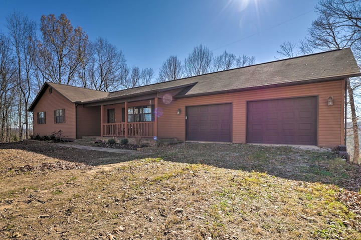 NEW! Secluded Marble Falls Home w/ Mountain Views!