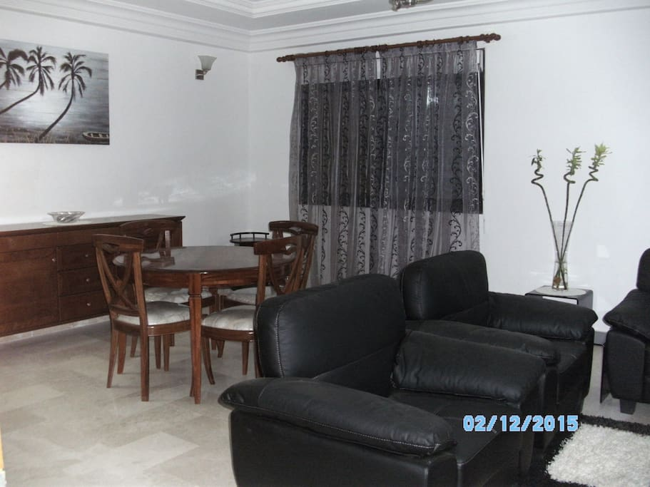 Appartement meubl aux almadies apartments for rent in for Appartement meuble a dakar