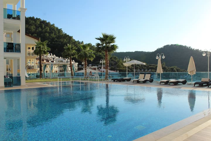 Air conditioned & comfortable apartment in Fethiye