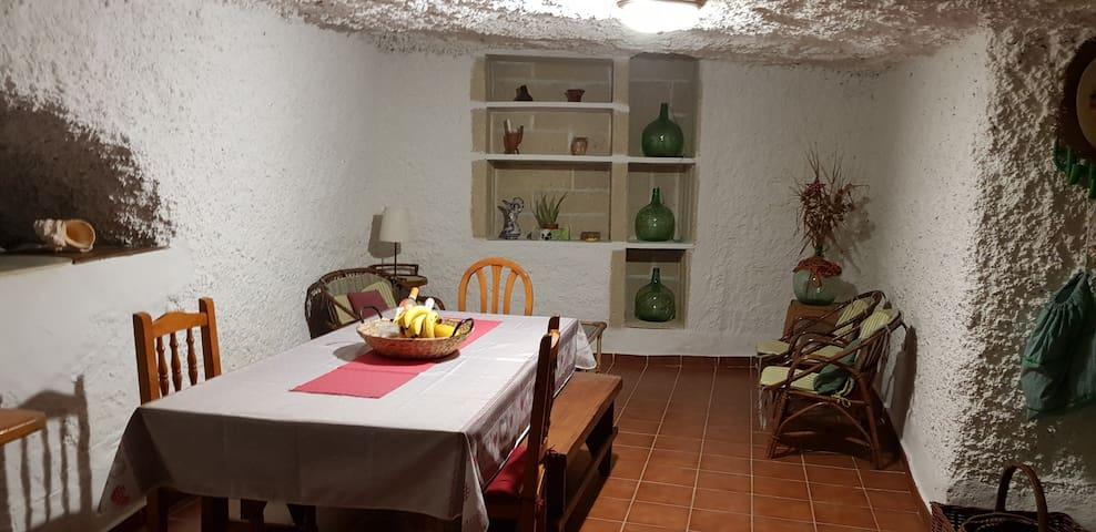 Höhlenwohnung in Arico, einen besonderes Erlebnis