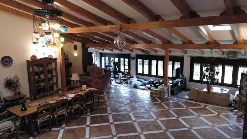 Casa rural espectacular Sierra Nevada, salon 120m2