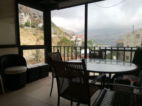 Chalet for rent @ faraya sound system and lighting