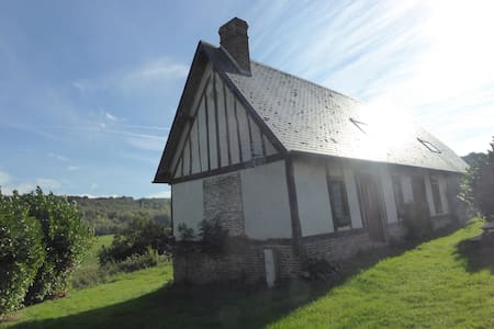 EN NORMANDIE, A LA CAMPAGNE, EN PLEINE NATURE