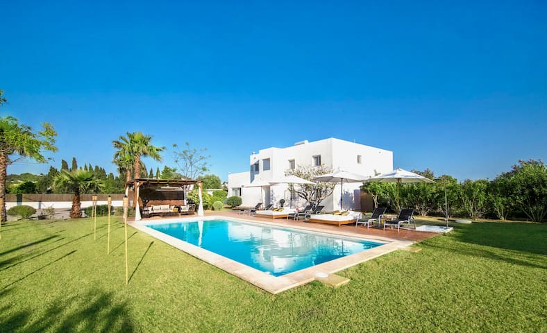 "- Luxury Villa in ""The Best Location of Ibiza"" -"