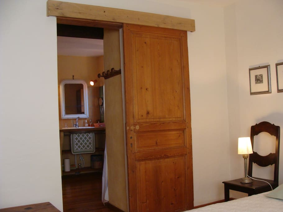 Chambre Amalfitana - accès salle d'eau