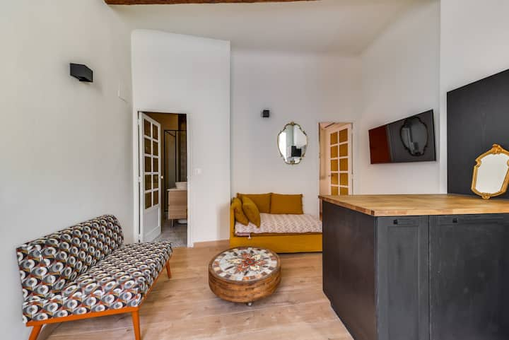 MODERN AND BRIGHT APARTMENT - AIX EN PROVENCE CITY CENTER