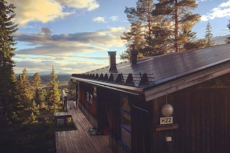 Stunning mountain cabin in Lofsdalen