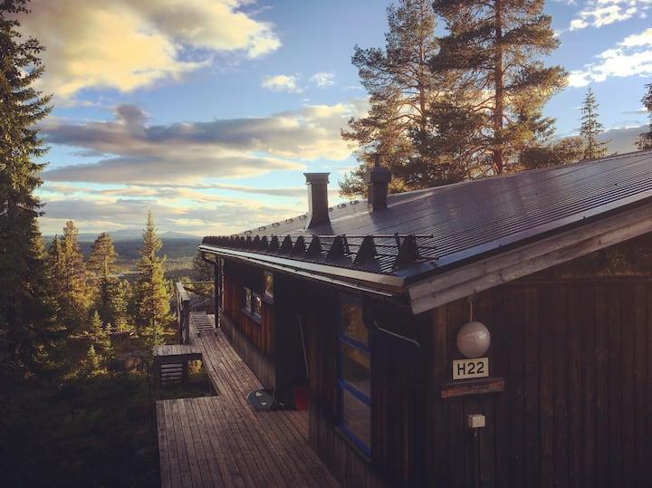 Stunning mountain cabin in Lofsdalen