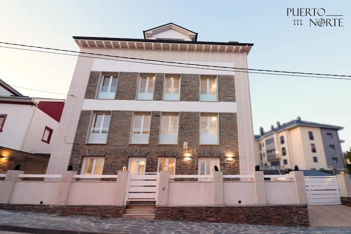 Apartamento nº1  - Puerto Norte Puerto de Vega