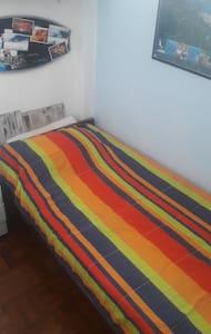 Quartinho maneiro :) na praia do boqueirão + Wi-Fi - Santos - Apartment