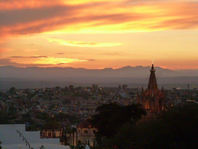 Casa en el Centro. Vista panorámica - San Miguel de Allende - House