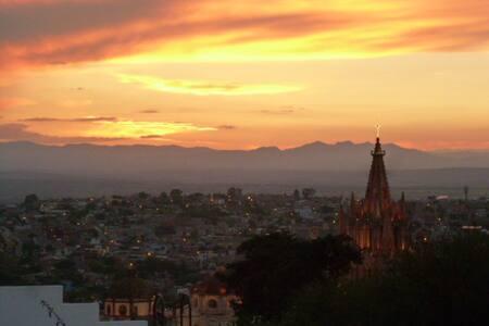 Casa en el Centro. Vista panorámica - San Miguel de Allende - Haus