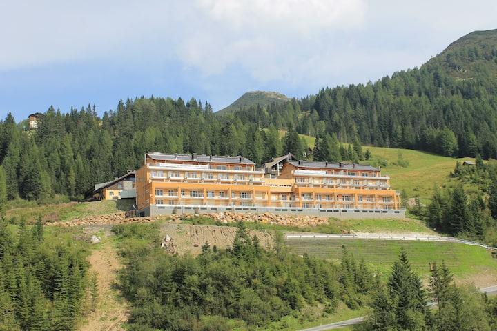 Apartment für 4-6 Personen mitten in den Bergen