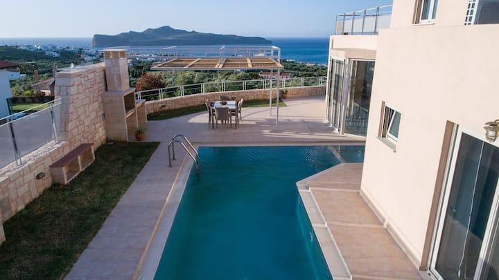 Pantanassa Villas - Thalia Villa with Jacuzzi & Sea view
