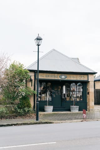 Beautiful stores situated along High Street, Oatlands Tasmania.