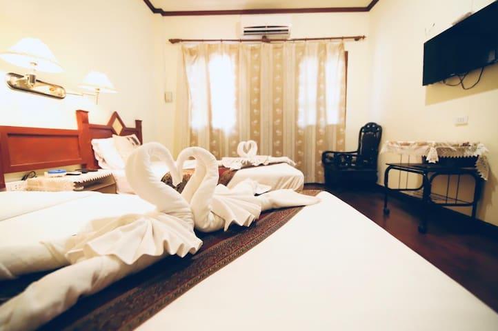 Villa muang swa, good location near center