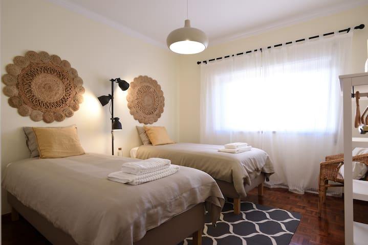 Bedroom #3 - Double single bed