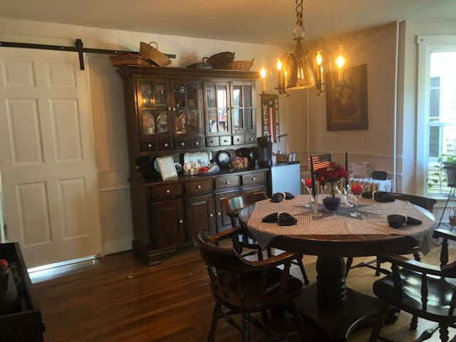 Updated 1900  home. Dining room, living room, 3 bd
