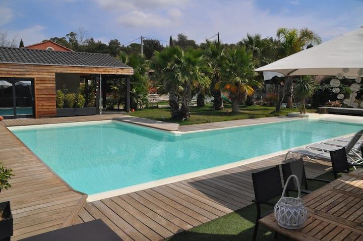 suite Okawango, dépaysant style lounge Safari