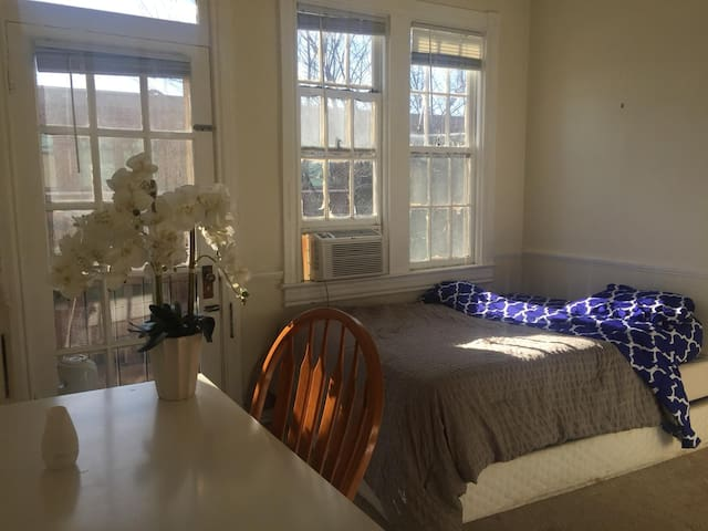 Sunny and Cozy Georgetown Room