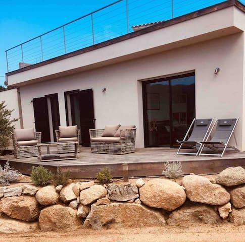 Maison dans propriété privée à 5 mn de St Cyprien