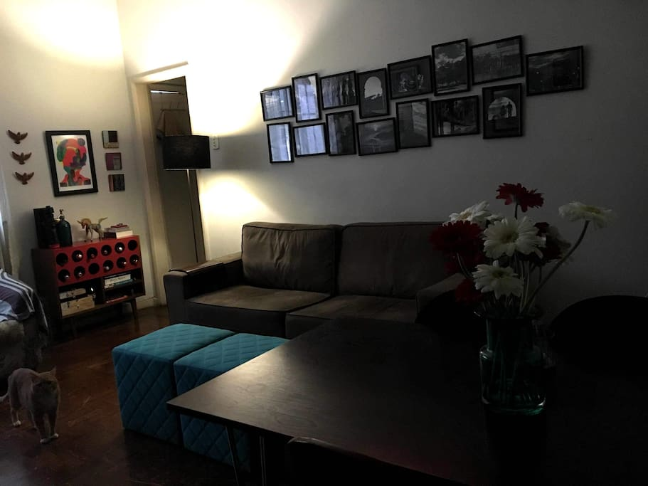 Sala de TV - Recepção.