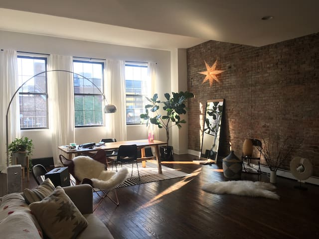 Beautiful Brooklyn loft - Brooklyn - Apartment