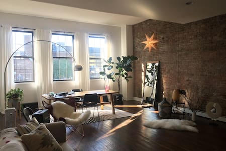 Beautiful Brooklyn loft - 布鲁克林 - 公寓