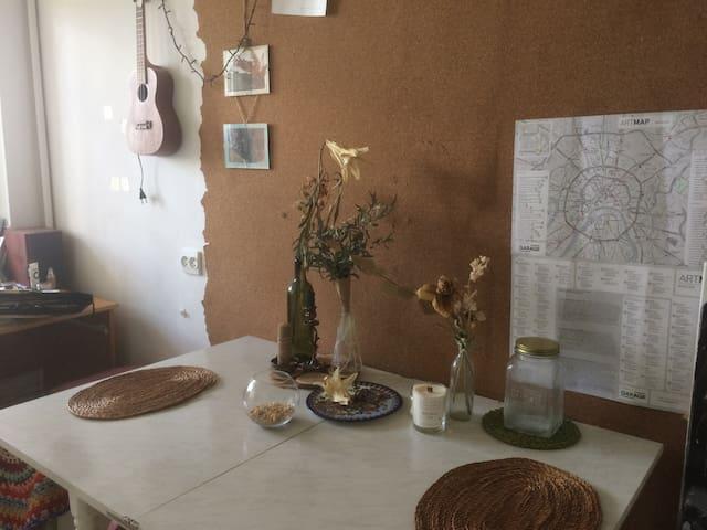 cosy minimalistic appartment at Proletarskaya
