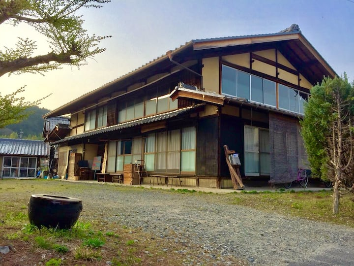 150 years old Japanese house in deep nature*.