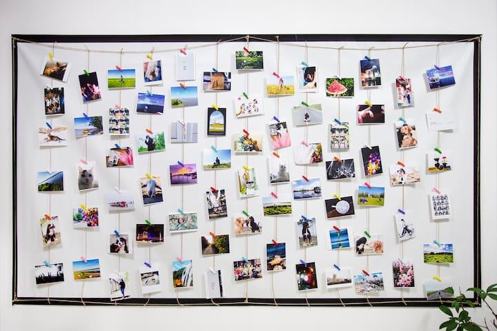 大林的照片墙,每一张照片都有故事,很愿意与你分享