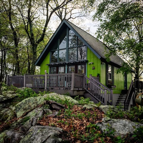 The Cabin On The Hill - Great Cacapon - Hus