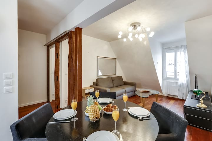 EIFFEL TOWER VIEW! LOVELY 1BR FLAT - CENTRAL PARIS