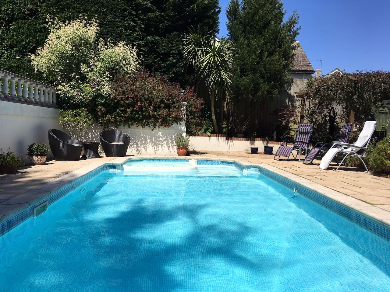 Use of pool and spa available to guests upon request and subject to availability