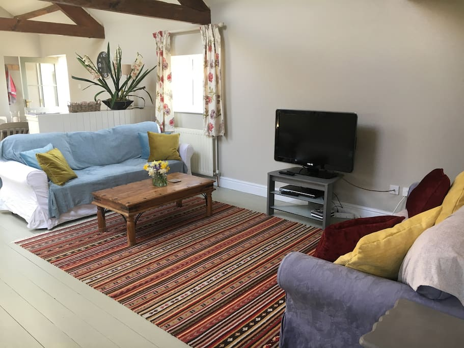The Cow Shed Living Room, Llandeilo