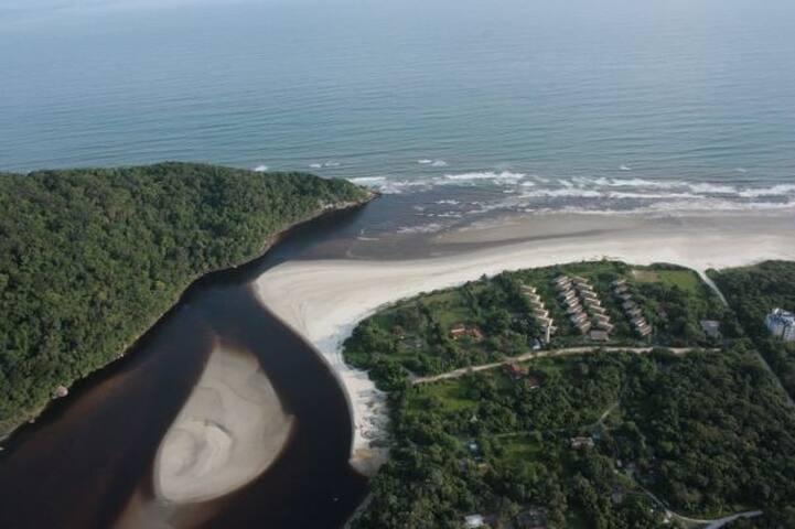 Casa confortável na praia de Guaratuba